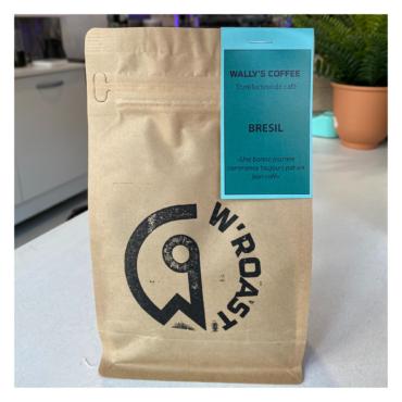 café en grains ou moulu bresil